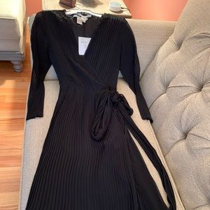 DVF  Black Dress  Diane Von Furstenberg
